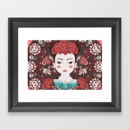Mexican eyes II Framed Art Print