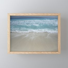 Carribean sea 5 Framed Mini Art Print
