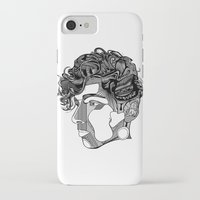 danny ivan iPhone & iPod Cases featuring Danny by Alastair Vanes