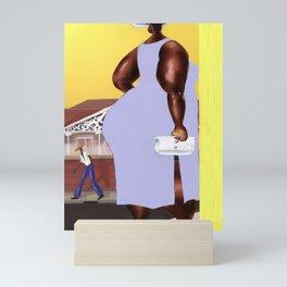 Roud De' Corner Posing Mini Art Print