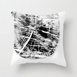 fragment birch Throw Pillow