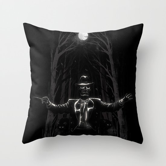 Bittersweet Symphony Throw Pillow