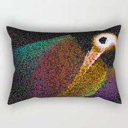 Bird abstrakt Rectangular Pillow