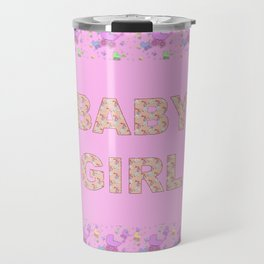 Baby Girl 3 Travel Mug