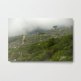 The Mists of Table Mountain Metal Print