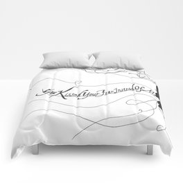 """Damaged Goods"" Comforters"