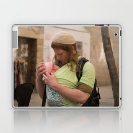 A Soldier & His Baby Laptop & iPad Skin