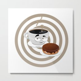 cup of thinking Metal Print