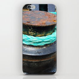 Green Rope iPhone Skin