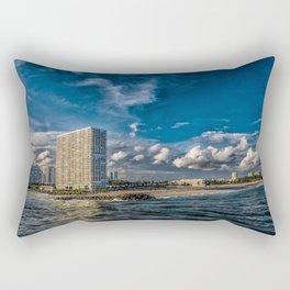 Modern Condos on Fort Lauderdale Beach Rectangular Pillow