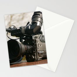 movie camera Stationery Cards