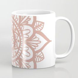 New Rose Gold Mandala Coffee Mug