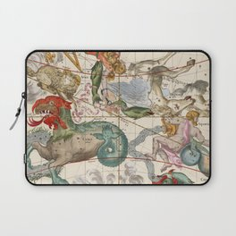 Vintage Constellation Map - Star Atlas Laptop Sleeve