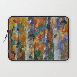 Birch trees - 1 Laptop Sleeve
