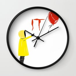 IT clown Pennywise Wall Clock