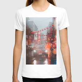 Car in Chinatown (Color) T-shirt