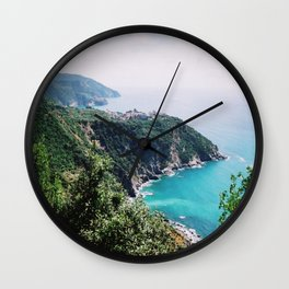 Italian Riviera Wall Clock