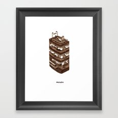 Metropolitain Framed Art Print