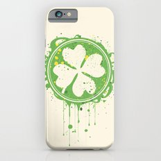 Patrick's clover iPhone 6s Slim Case
