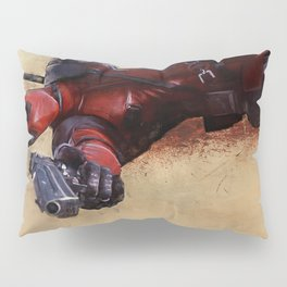 The Acrobatic Merc With A Mouth Wade Wilson - X-Force Pillow Sham
