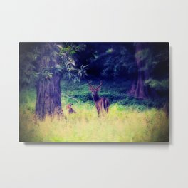 Morning in the Meadow Metal Print