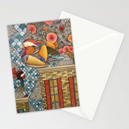 Rooftop Encounter Stationery Cards