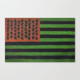 Reverse Patriot Canvas Print