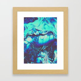 CALM LIKE YOU Framed Art Print
