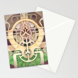Composition III Stationery Cards