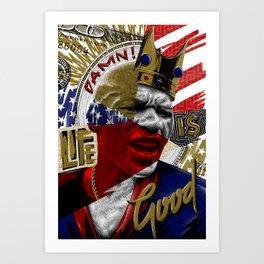 FLOYD MAYWEATHER JR. Art Print