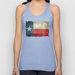 State flag of Texas, Lone Star Flag of the Lone Star State Unisex Tank Top