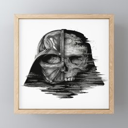 Behind the Mask (Darth Vader) Framed Mini Art Print