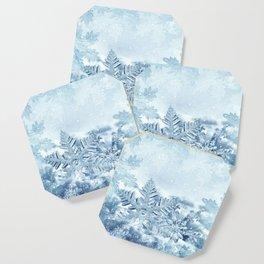 Snowflake Crystals Coaster