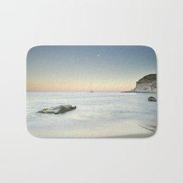 SuperMoon At Plomo Beach. Summer dreams Bath Mat