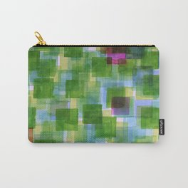 Pink and Orange Outposts Carry-All Pouch