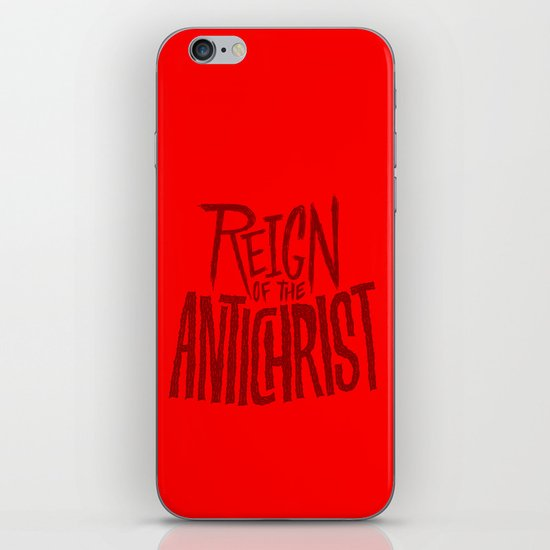 Reign of the Antichrist iPhone & iPod Skin