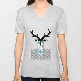 "Deardeer ""Pirate"" Unisex V-Neck"
