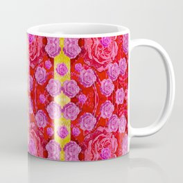 Roses and butterflies on ribbons as a gift of love Coffee Mug
