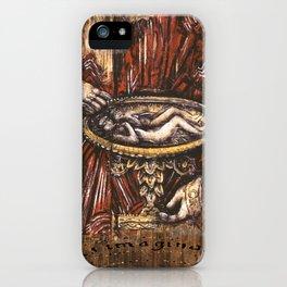 Deus Ex Machina my  paintings  for the SP album cover iPhone Case