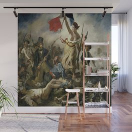Eugene Delacroix's Liberty Leading the People Wall Mural