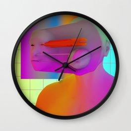 SELF PORTRAIT 2017 Wall Clock