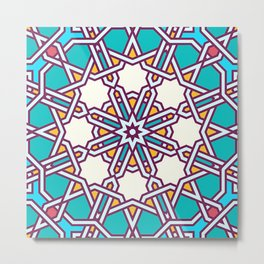 Turkish Pattern  Metal Print