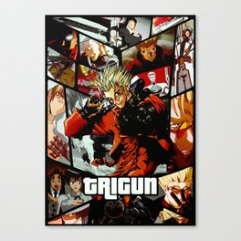 Trigun Ultimate anime tribute Canvas Print