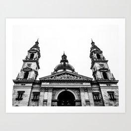 St. Stephen's Basilica. Art Print