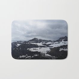 Darkness of The Mountains Bath Mat