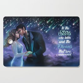 Starfall Cutting Board