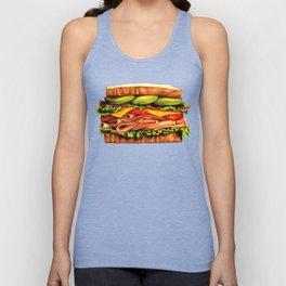 Sandwich- Turkey Bacon Avocado Unisex Tank Top