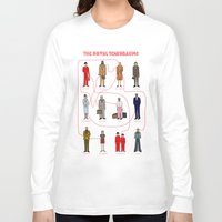 tenenbaums Long Sleeve T-shirts featuring The Royal Tenenbaums by Shanti Draws