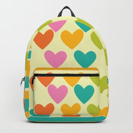 Hearts in lines Backpack