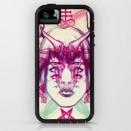 Demonic - Anaglyph iPhone Case